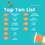 CHHNOW Top Ten Weekly List 10/1/20